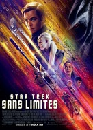 Star Trek Beyond - French Movie Poster (xs thumbnail)