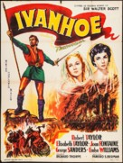 Ivanhoe - French Movie Poster (xs thumbnail)