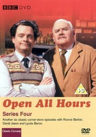 """Open All Hours"" - British VHS movie cover (xs thumbnail)"