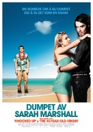 Forgetting Sarah Marshall - Norwegian Movie Poster (xs thumbnail)