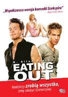 Eating Out - Polish Movie Poster (xs thumbnail)