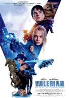 Valerian and the City of a Thousand Planets - Finnish Movie Poster (xs thumbnail)