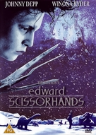 Edward Scissorhands - British DVD cover (xs thumbnail)