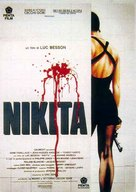 Nikita - Italian Movie Poster (xs thumbnail)