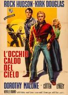 The Last Sunset - Italian Movie Poster (xs thumbnail)