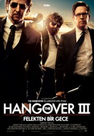 The Hangover Part III - Turkish Movie Poster (xs thumbnail)