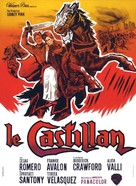 El valle de las espadas - French Movie Poster (xs thumbnail)