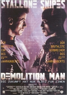 Demolition Man - German Movie Poster (xs thumbnail)