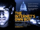 The Internet's Own Boy: The Story of Aaron Swartz - British Movie Poster (xs thumbnail)