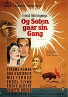 The Sun Also Rises - Danish Movie Poster (xs thumbnail)
