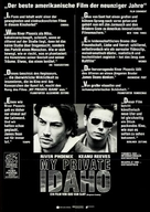 My Own Private Idaho - German Movie Poster (xs thumbnail)