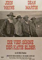 The Sons of Katie Elder - German Movie Poster (xs thumbnail)