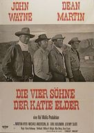 The Sons of Katie Elder - German Movie Poster (xs thumbnail)