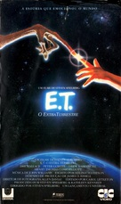 E.T.: The Extra-Terrestrial - Brazilian VHS cover (xs thumbnail)