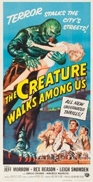 The Creature Walks Among Us - Movie Poster (xs thumbnail)