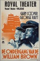 Souls at Sea - Dutch Movie Poster (xs thumbnail)