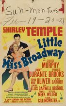 Little Miss Broadway - Movie Poster (xs thumbnail)