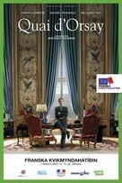 Quai d'Orsay - Icelandic Movie Poster (xs thumbnail)