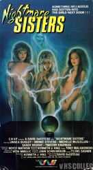 Nightmare Sisters - VHS cover (xs thumbnail)