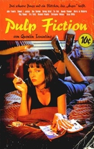 Pulp Fiction - German VHS movie cover (xs thumbnail)