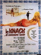 The Knack ...and How to Get It - French Movie Poster (xs thumbnail)