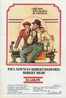 The Sting - Spanish Movie Poster (xs thumbnail)