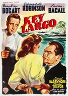 Key Largo - Belgian Movie Poster (xs thumbnail)