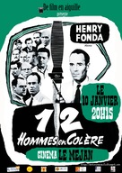 12 Angry Men - French Movie Poster (xs thumbnail)