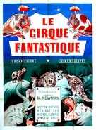 The Big Circus - French Movie Poster (xs thumbnail)