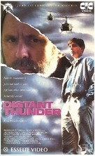 Distant Thunder - Finnish VHS movie cover (xs thumbnail)