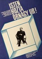 Isten hozta örnagy úr - Hungarian Movie Poster (xs thumbnail)