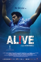 Alive! - British Movie Poster (xs thumbnail)