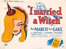 I Married a Witch - British Movie Poster (xs thumbnail)