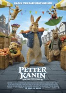 Peter Rabbit 2: The Runaway - Norwegian Movie Poster (xs thumbnail)