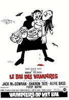 Dance of the Vampires - Belgian Movie Poster (xs thumbnail)