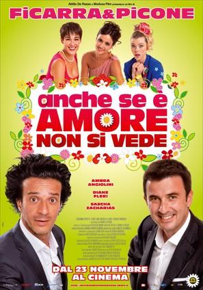 Anche se è Amore non si vede - Italian Movie Poster (thumbnail)