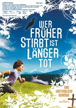 Wer früher stirbt, ist länger tot - German Movie Poster (thumbnail)