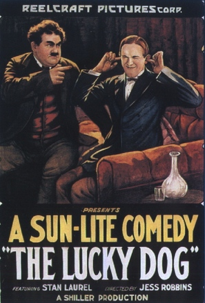 The Lucky Dog - Movie Poster (thumbnail)