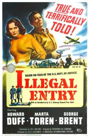Illegal Entry - Movie Poster (thumbnail)