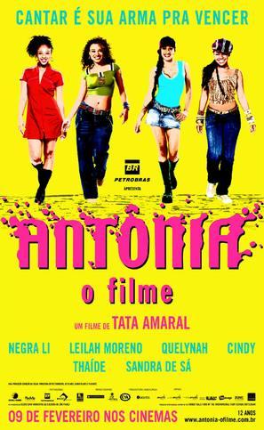 Antônia - O Filme - Brazilian Movie Poster (thumbnail)