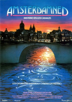 Amsterdamned - Spanish Movie Poster (thumbnail)