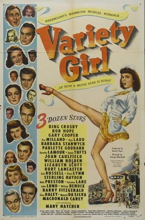 Variety Girl - Movie Poster (thumbnail)