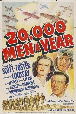 20,000 Men a Year - Movie Poster (thumbnail)