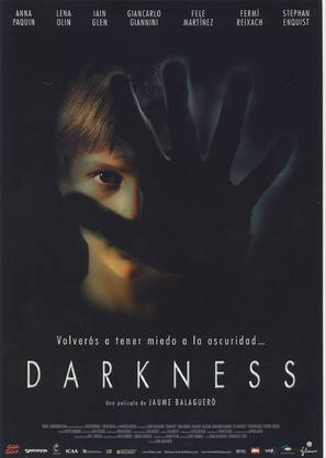Darkness - Spanish Movie Poster (thumbnail)