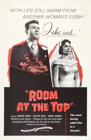Room at the Top - Movie Poster (thumbnail)