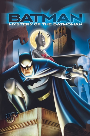 Batman: Mystery of the Batwoman - DVD cover (thumbnail)