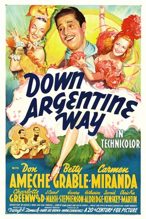 Down Argentine Way - Movie Poster (thumbnail)