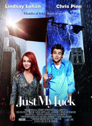 Just My Luck - Danish Movie Poster (thumbnail)