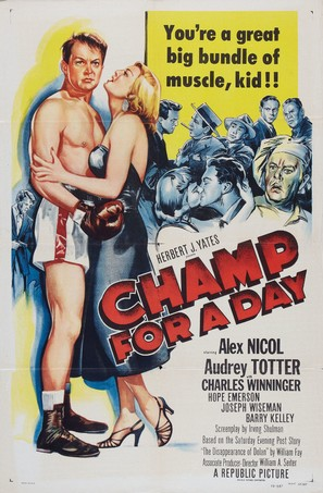 Champ for a Day - Movie Poster (thumbnail)