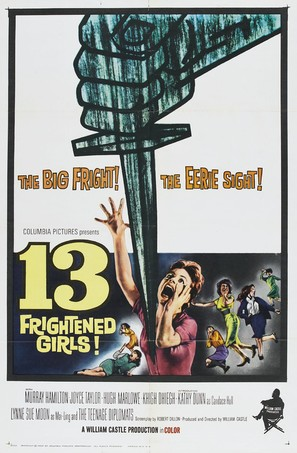 13 Frightened Girls - Movie Poster (thumbnail)